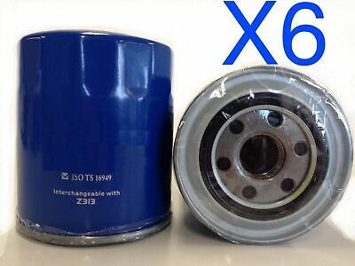 AU75.30 • Buy 6X Oil Filter Suits RYCO Z313 // (F313