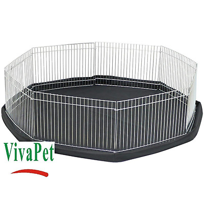 Play Pen Cage For Small Pet Rabbit Puppy Kitten Guinea Pig Hamster Animal Rat • 31.99£