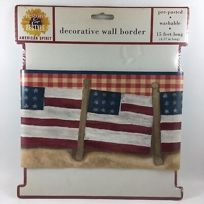 Patriotic Wallpaper Border Compare Prices On Dealsancom