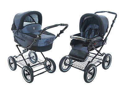 $559.99 • Buy Infant, Toddler Baby Stroller Roan Rocco 2-in-1 With Bassinet & Seat - Graphite