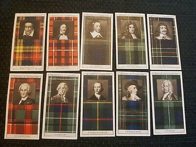$2.54 • Buy Clan Tartans (1927) Stephen Mitchell & Son - Buy 2 & Save - Complete Your Set