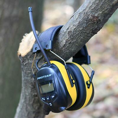 FM/AM Radio Noise Reduction Headset Protear Ear Defenders With Stereo Work Job • 59.99£