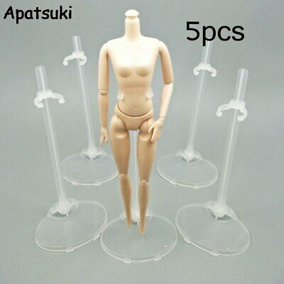 £4.05 • Buy 5pcs Toy Stand Support For Barbie Doll Prop Up Mannequin Model Display Holder