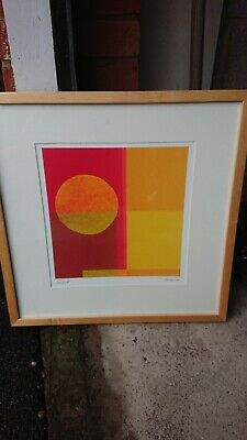 2 X IKEA Framed Square Abstract Pictures • 7£