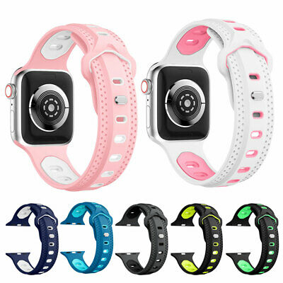 $ CDN6.30 • Buy Perforated Silicone Rubber Smart Watch Band Bracelet Strap For Fitbit Ionic PR