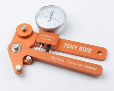 $87.99 • Buy Spoke Tension Tester Bike Indicator Tensiometer Bicycle Spoke Tension Meter