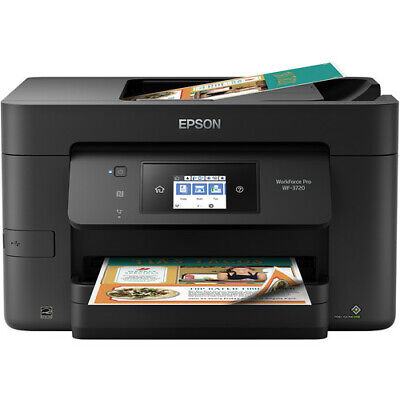 View Details Epson WorkForce Pro WF-3720 All-in-One Printer Home Office Copy Scan Fax WIFI • 209.98$