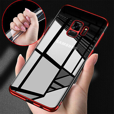 $ CDN5.26 • Buy Electroplate TPU Case For Samsung Galaxy S8 ShockProof Soft Phone Cover Silicone