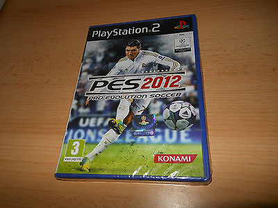 AU131.22 • Buy Pro Evolution Soccer PES 2012 PS2 NEW SEALED Pal PS2