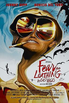 £10.99 • Buy Fear And Loathing In Las Vegas 1998 Movie Poster A0-A1-A2-A3-A4-A5-A6-MAXI 210