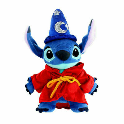 10  Disney Lilo & Stitch Plush Doll Magician Model Soft Stuffed Toy Gift For Kid • 9£