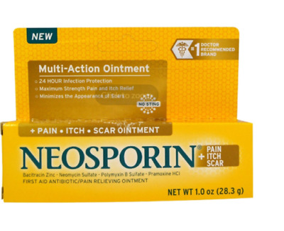 2 X Neosporin Multi Action Pain-itch-scar Ointment No Sting Strength Pain Relief • 36.03£