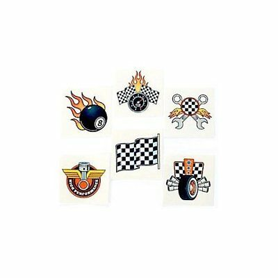 £2.76 • Buy Race Car Temporary Tattoos - Go Kart Party Bag Fillers Pack Sizes 6 - 36