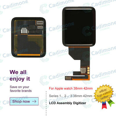 $ CDN266.15 • Buy For Apple Watch Series 1 2 3 38/42mm LCD Display Screen Digitizer Replace LOT SL