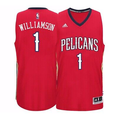 $63.99 • Buy Zion Williamson New Orleans Pelicans Adidas Climacool Alt Red Swingman Jersey XL