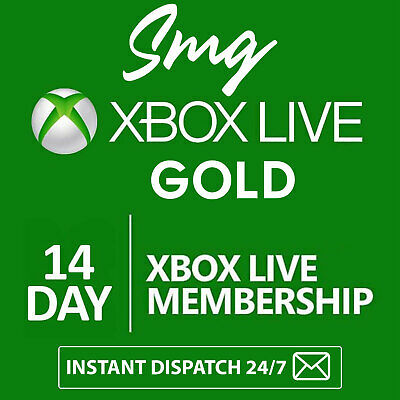 $ CDN4.24 • Buy Xbox Live 14 DAY Gold Trial Code INSTANT DISPATCH (2 WEEKS)