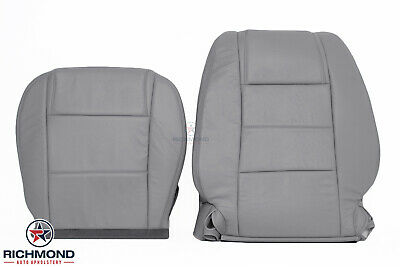 $506.70 • Buy 2005-2009 Ford Mustang V6 - Driver Side Complete Leather Seat Covers Gray