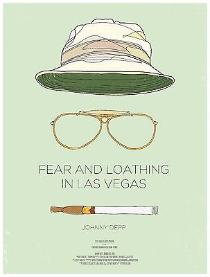 £10.99 • Buy Fear And Loathing In Las Vegas 1998 Movie Poster A0-A1-A2-A3-A4-A5-A6-MAXI 211