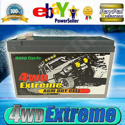 AU22 • Buy 4wdextreme 7ah 12v Deep Cycle Agm Dry Cell Battery - Alarm Many Applications Dp7