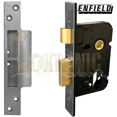 Enfield D735D Dual Profile Euro Oval Cylinder Mortice Sash Lock Case • 29.10£