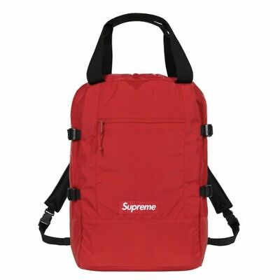 $ CDN376.54 • Buy Supreme Tote Backpack Red Royal Box Logo (New) 2019 (100% Authentic)