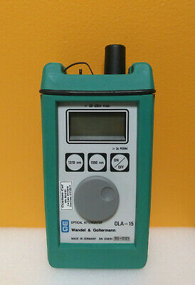 $75.99 • Buy Wandel + Goltermann OLA-15, 1260 To 1625nm, 4 Digit, Optical Attenuator, Tested!