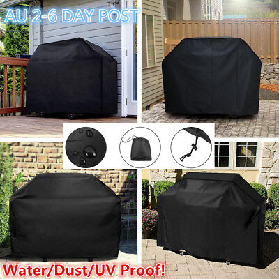 AU19.59 • Buy BBQ Grill Cover 2/4/6 Burner Waterproof Outdoor UV Charcoal Barbecue Protector