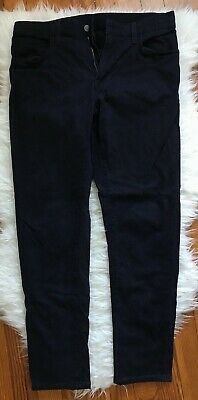 c7d58ec357181 Uniqlo Men's Pants Dark Blue Medium • 18.00$