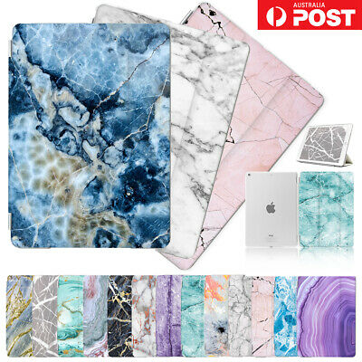 AU15.99 • Buy Marble Front&Back Smart Case Cover For IPad 5 6 7 8 Mini Air Pro 9.7 10.5 F001