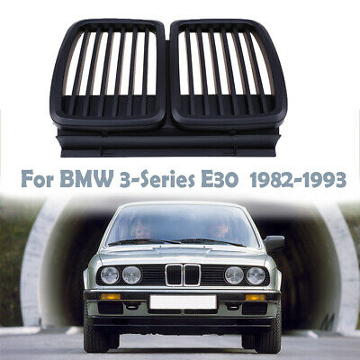 $43.99 • Buy Black Radiator Grille Kidney Fit BMW E30 3-Series Cabrio Touring Coupe QD09
