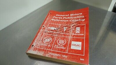 $45 • Buy Chevy Pontiac Oldsmobile Buick Cadillac GMC Dealer Parts Reference Catalog Last