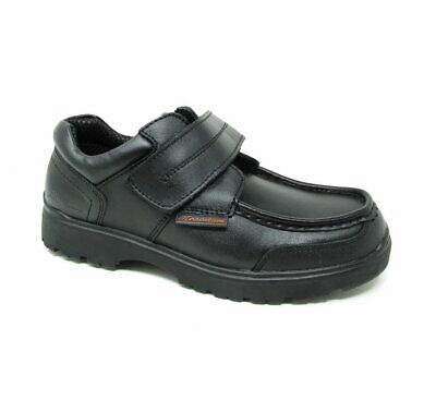 Boys Kids Macadam Leather School Shoes Size • 14.99£