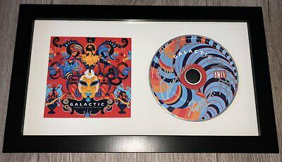GALACTIC SIGNED AUTOGRAPH CARNIVALE ELECTRICOS FRAMED & MATTED CD W/PROOF • 43.01£