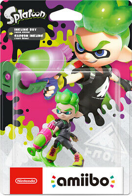 AU25.95 • Buy Nintendo Inkling Boy Neon Green Amiibo Splatoon NEW
