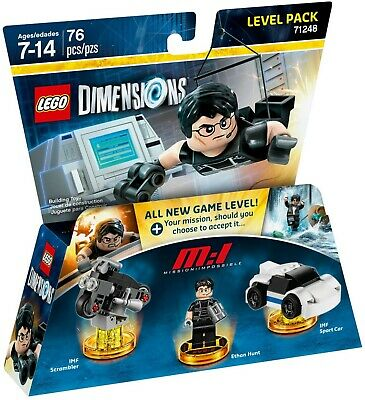 AU37 • Buy LEGO Dimensions 71248 Mission Impossible Level Pack - New (Free Shipping)
