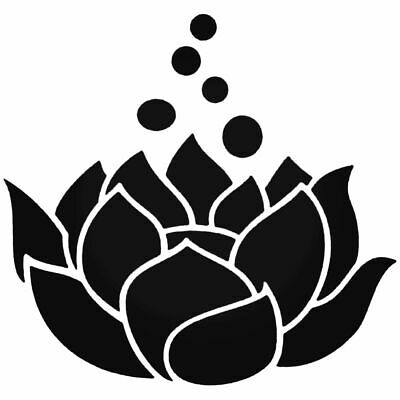 $ CDN1.90 • Buy Lotus Flower Vinyl Decal Sticker Car Window Laptop Pretty