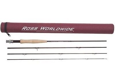 $ CDN193.46 • Buy Ross Diamond RX Fly Rod 690-4 Freshwater 6wt 9ft 4pc NEW With Case