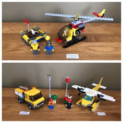 £24.99 • Buy Lego City Harbour Helicopter & Raft 2230 Sea Plane 3178 Repair Truck 3179