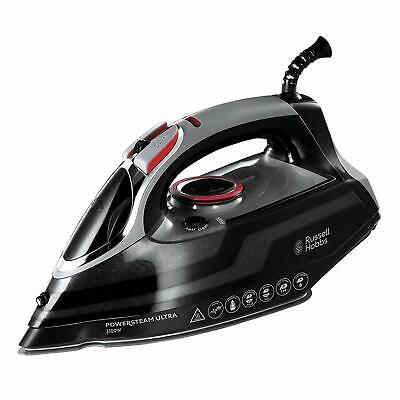 View Details Russell Hobbs Powersteam Ultra 3100 W Vertical Steam Iron 20630 - Black And Grey • 31.99£