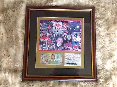 George Best Limited Edition £5.00 Note Framed Picture  • 450£