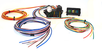 1947 - 1954 chevy pickup truck 12 circuit wiring harness wire kit chevrolet  • 69 99$