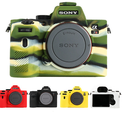 $ CDN35.53 • Buy Soft Silicone Rubber ILCE 7RM3 Camera Protective Case Skin For Sony A7rM III