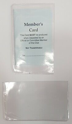 £2.50 • Buy Wallet Holder For Membership Credit Card Driving Licence Loyalty Card ID 10 PACK
