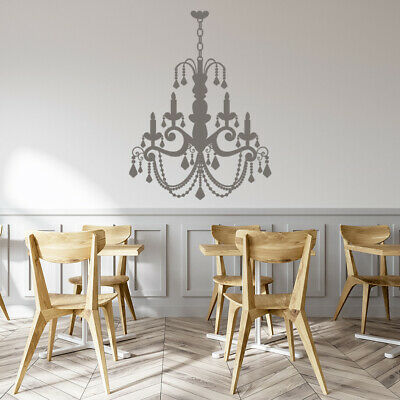 £16.99 • Buy Candle Chandelier Dining Room Wall Sticker WS-15585