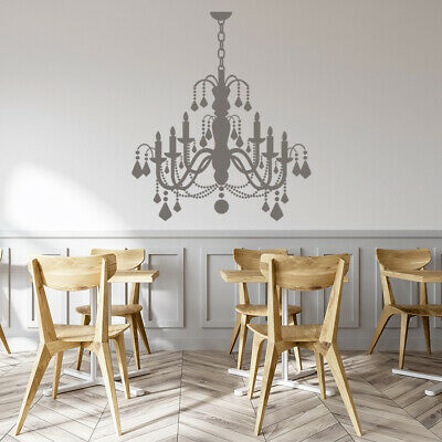 £17.99 • Buy Grand Candle Chandelier Dining Room Wall Sticker WS-15587