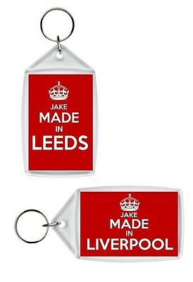 Personalised Made In Chelsea Inspired Keyring • 2.99£