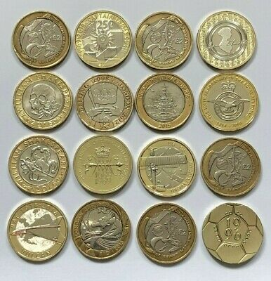 £4.50 • Buy £2 Pound Coins Rare William Shakespeare Olympic Isle Of Man Commonwealth Bible