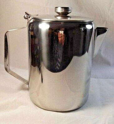 £18.90 • Buy Sunnex Large Stainless Steel Teapot Coffee Pot Catering Restaurant 100oz 3.0L