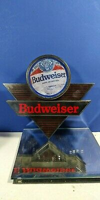 $ CDN31.03 • Buy Budweiser Plastic Sign Wall Hanging Not Lighted Collectible