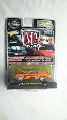 $ CDN25 • Buy M2 Machines 1970 Ford Mustang Grabber Detroit Muscle Premier Edition Diecast